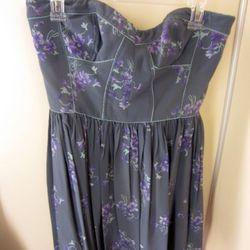 Rebecca Taylor bustier dress, $149