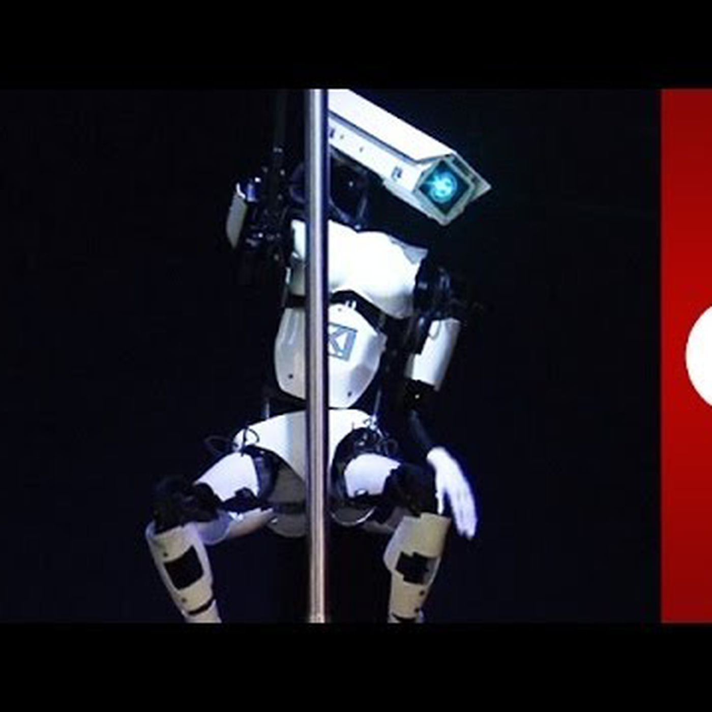 Here S The Story Behind That Pole Dancing Robot The Verge