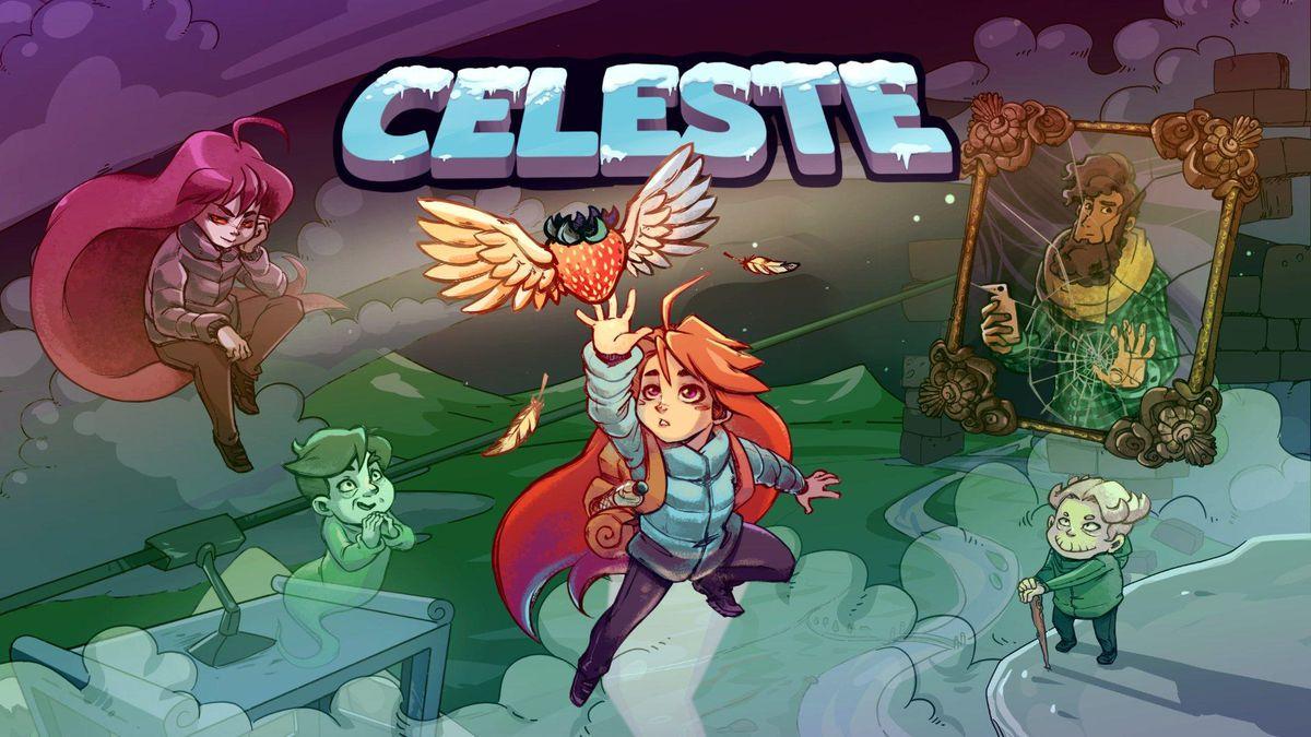 Title screen for Celeste