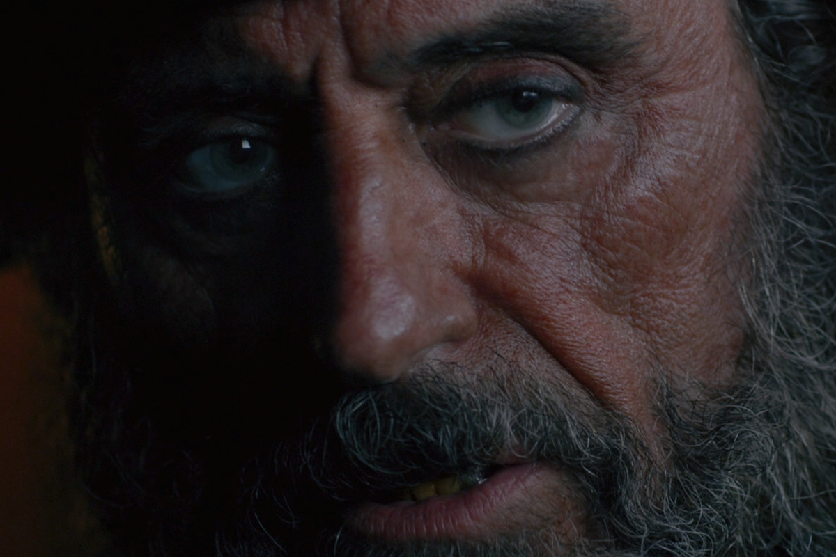 Ian McShane's Blackbeard from Pirates of the Caribbean: On Stranger Tides