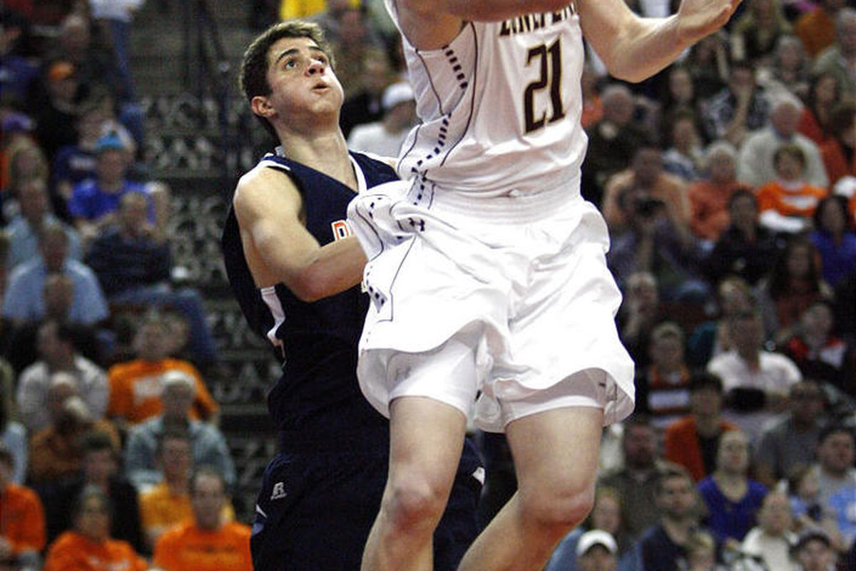 Talon Shumway (21) joins Nick Emery, T.J. Haws and Eric Mika in giving defending 5A champion Lone Peak a stellar nucleus in quest of its third straight state basketball title.