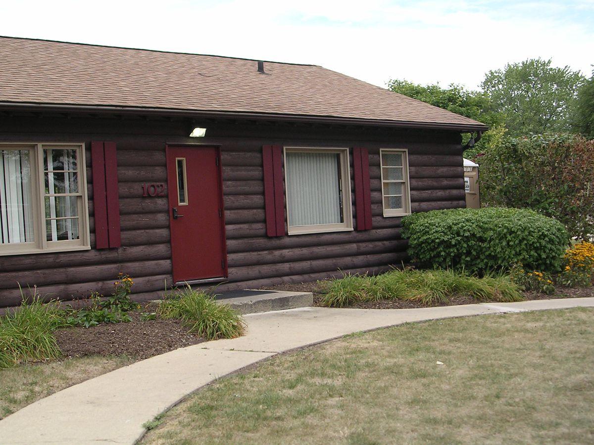 Bartlett Log Cabin, 102 N Eastern Ave., Bartlett. | Provided photo