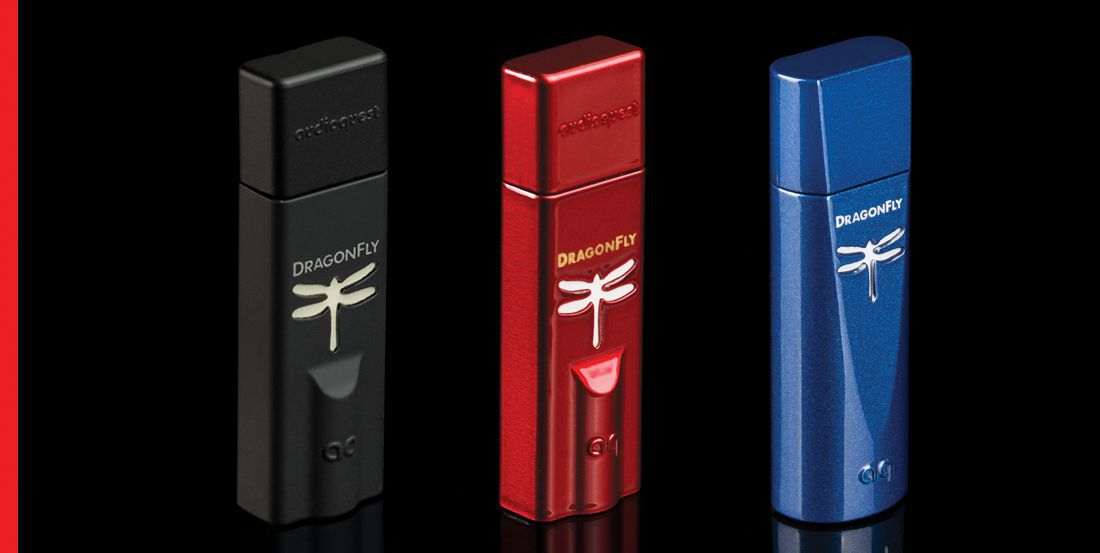 AudioQuest Dragonfly series