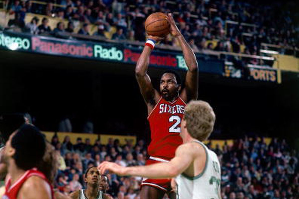 premium selection 26822 7d418 Sixers to Retire Moses Malone's Jersey - Liberty Ballers