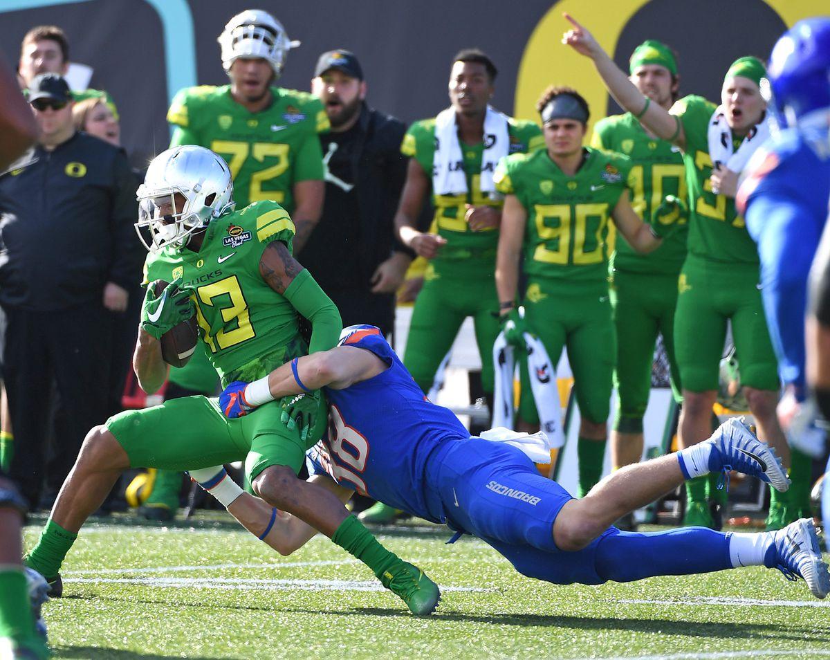 NCAA Football: Las Vegas Bowl-Boise State vs Oregon