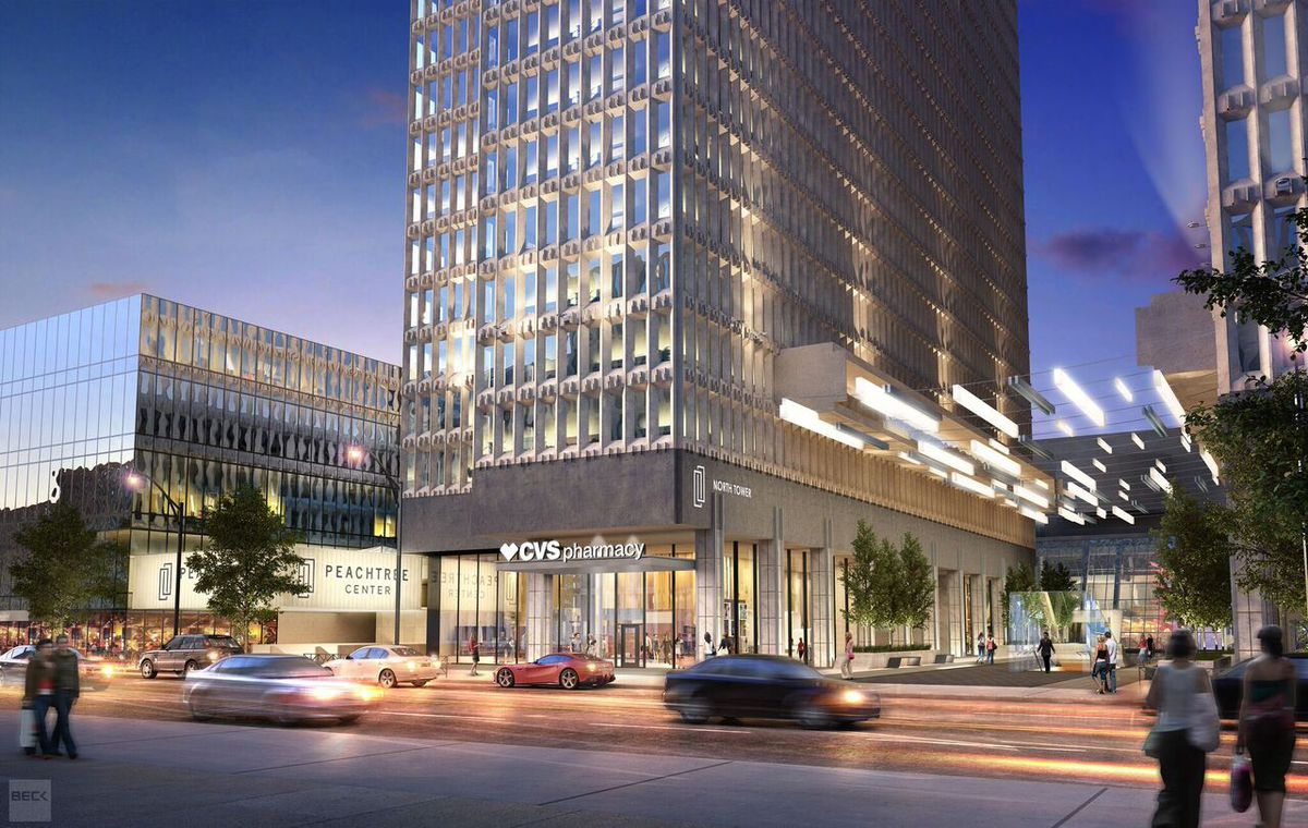 First Look Downtown Landmark Peachtree Center To Be