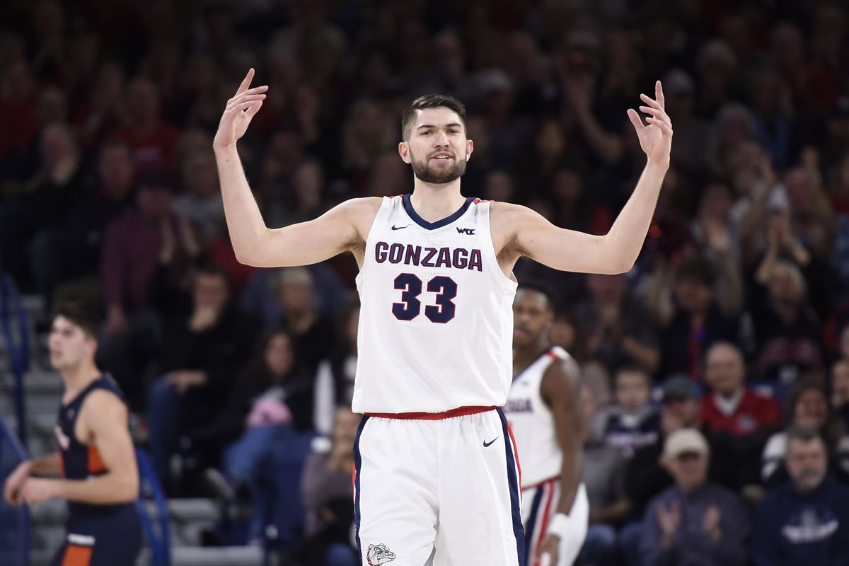 College Basketball Rankings Gonzaga Holds On To The Top
