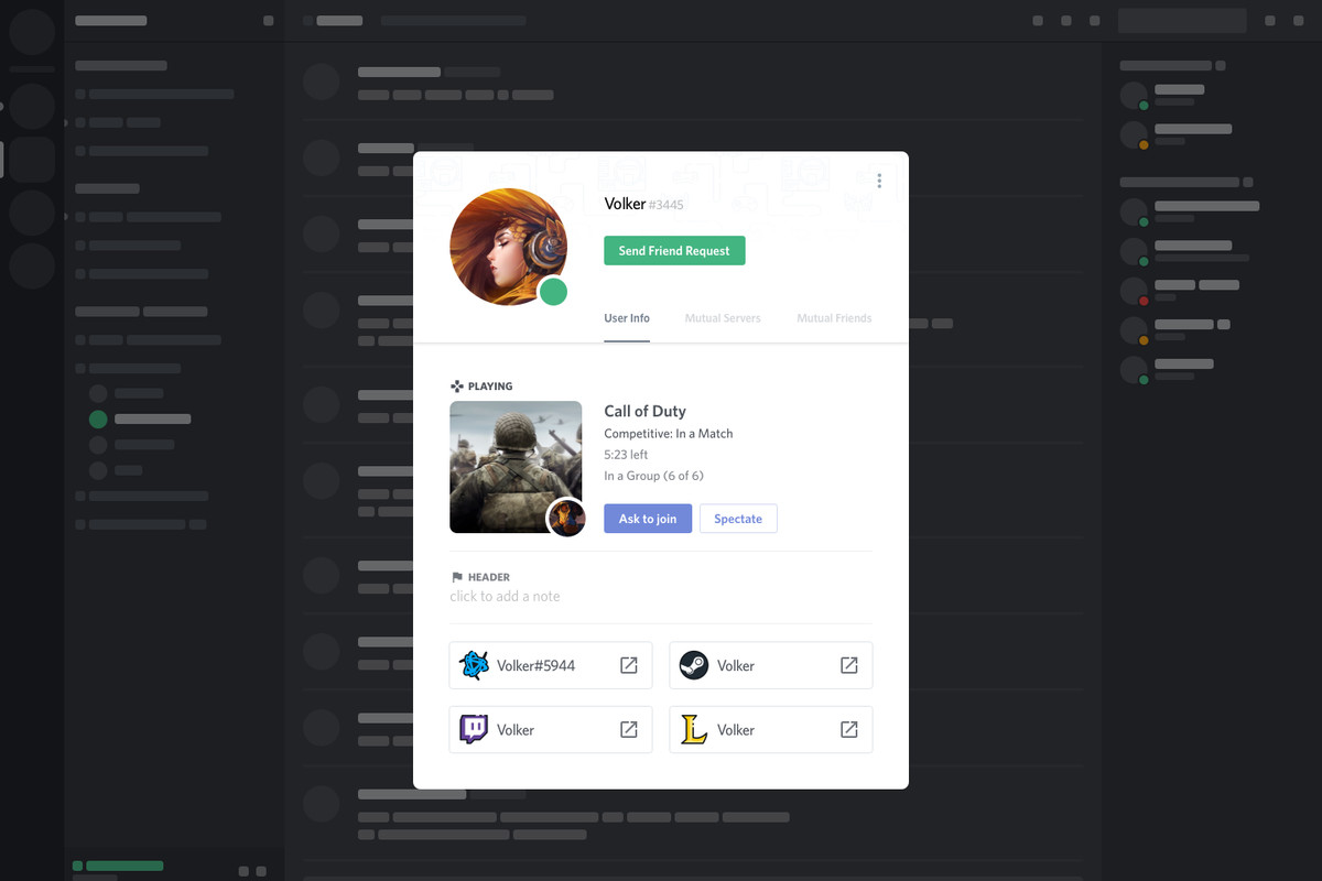Discord's newest feature lets users hop into friends' games