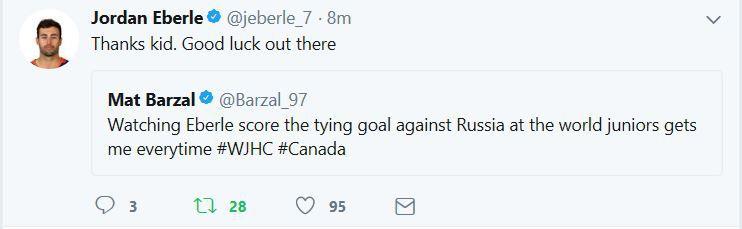 Eberle Barzal twitter