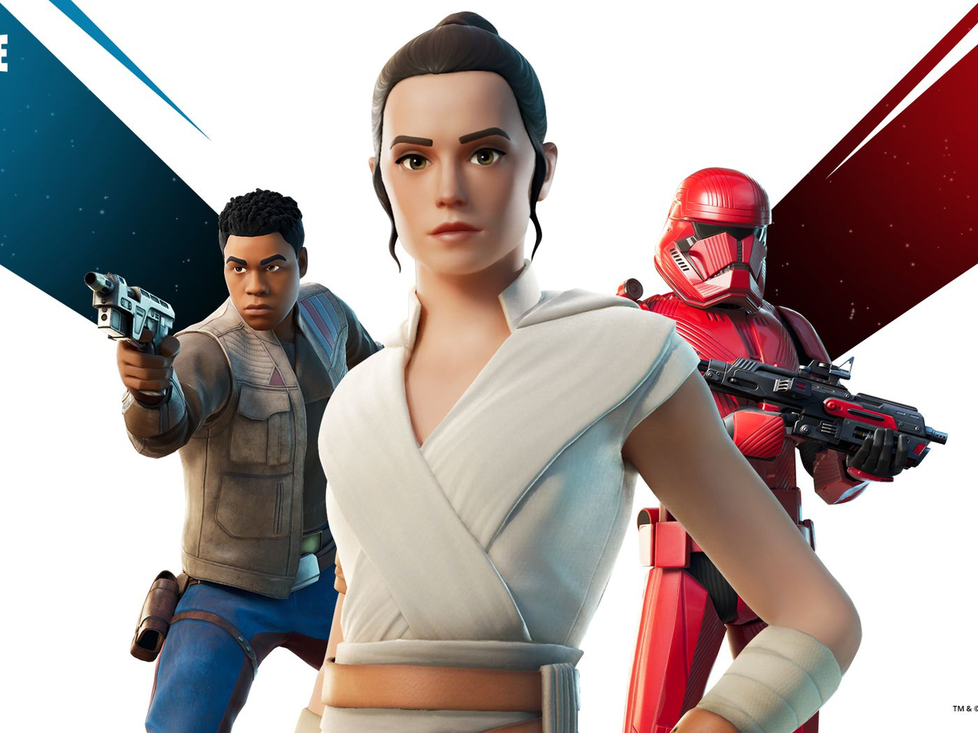 Fortnite Adds Rey And Finn Skins In Time For Star Wars The Rise Of Skywalker The Verge