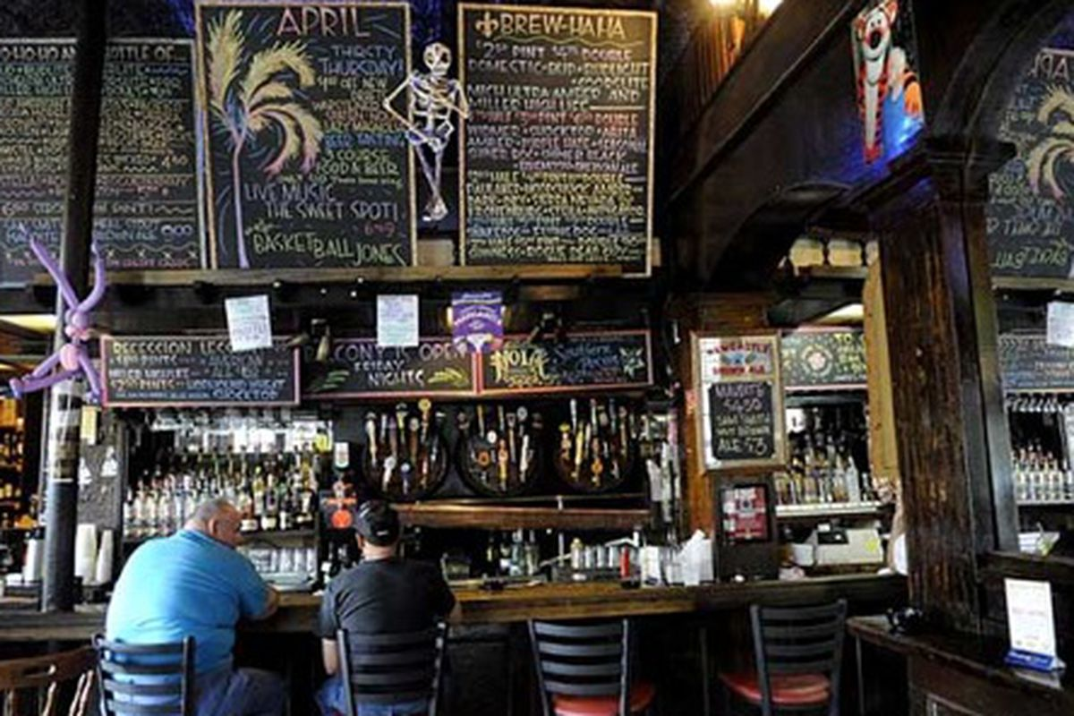 Inside Avenue Pub, home of next week's release party for the NOLA Brewing and Stone collaboration.