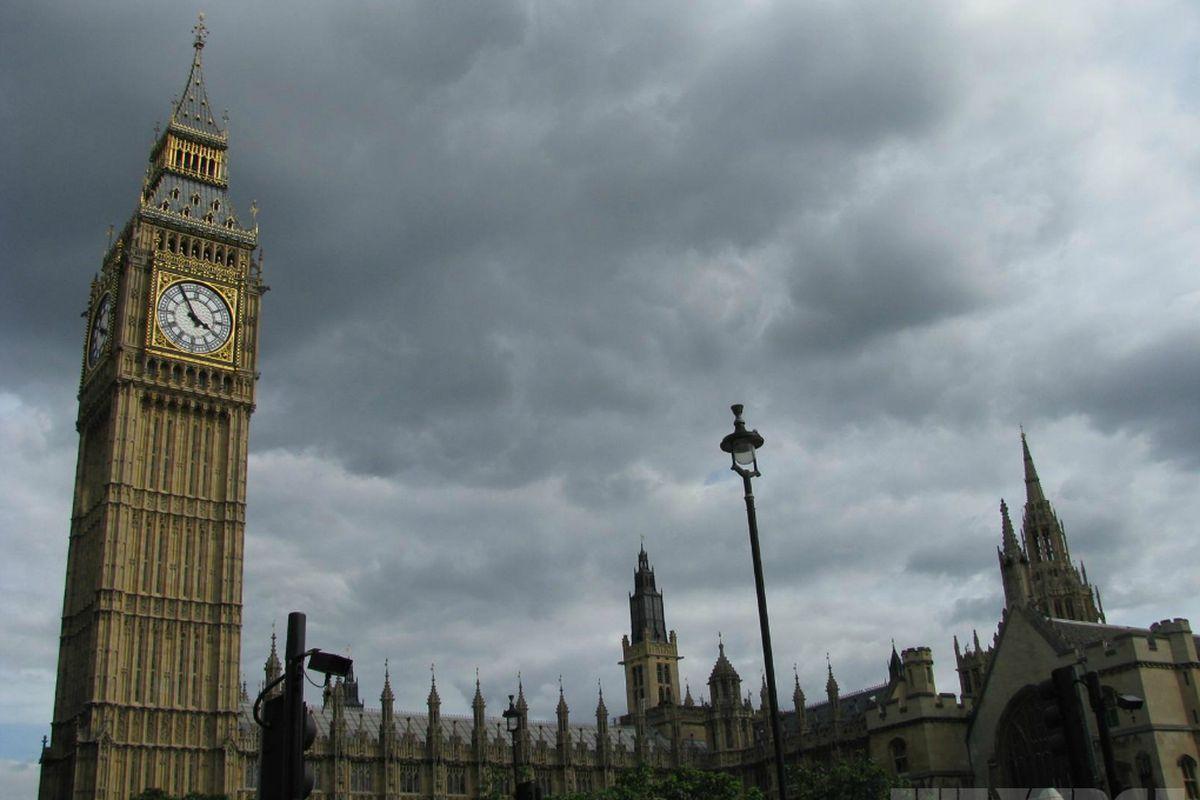 Cloud over British Parliament stock