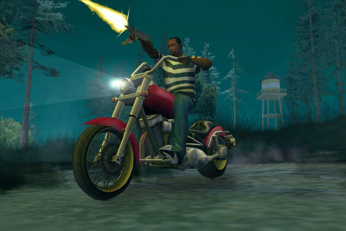 A screenshot of Grand Theft Auto: San Andreas
