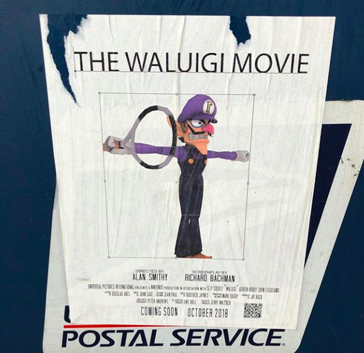 This masterpiece is not the Waluigi movie script we want ...