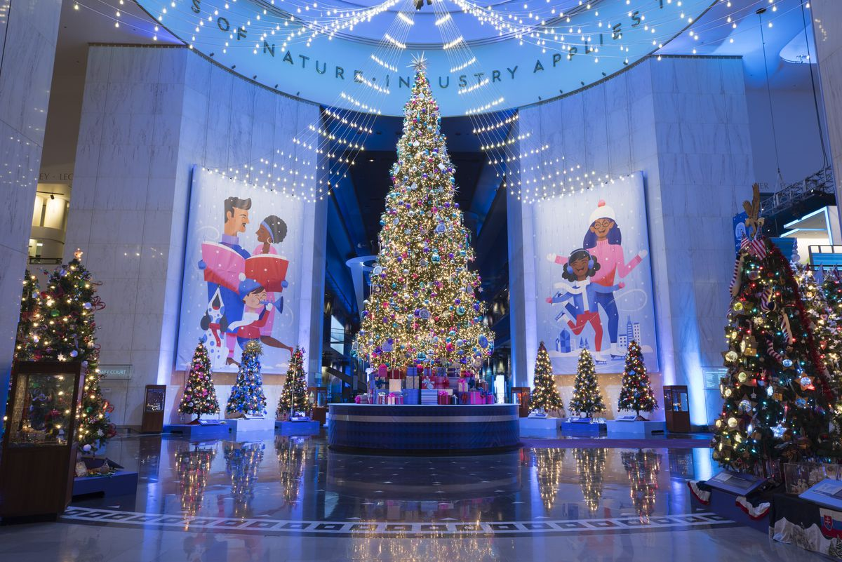 """4efa68e6ef4 """"Christmas Around the World"""" at the Museum of Science and Industry features  a 45 """""""
