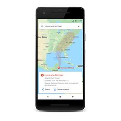 <em>Alerts for hurricanes will attempt to map their route.</em>