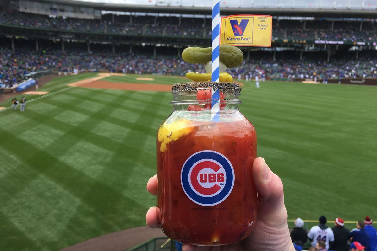 The Chicago Dog Bloody Mary