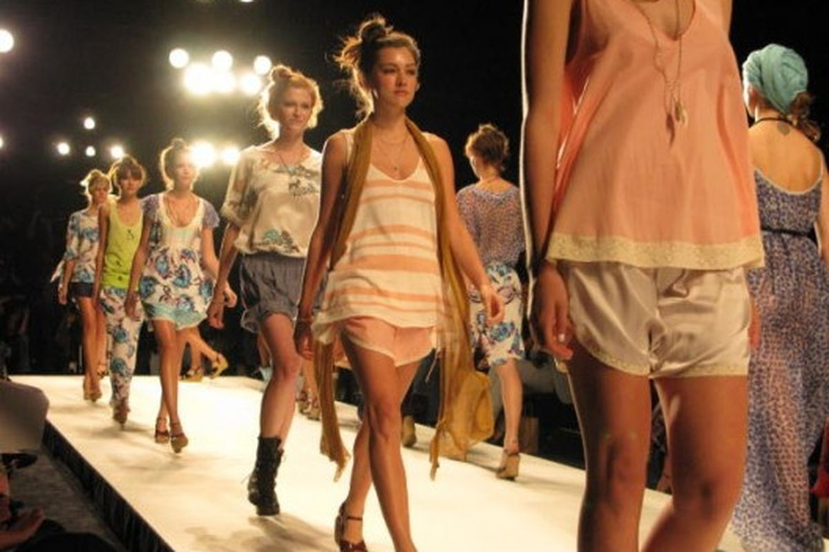 A runway from last fall's LAFW