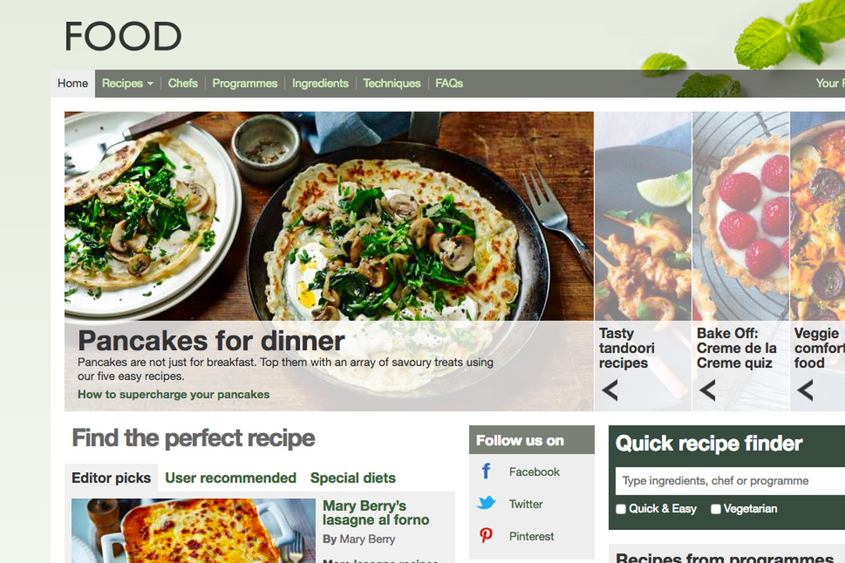 Following outcry bbc clarifies it will not delete thousands of earlier this week the bbc announced the shutdown of its popular food and recipe site bbc food which contains some 13000 recipes forumfinder Images
