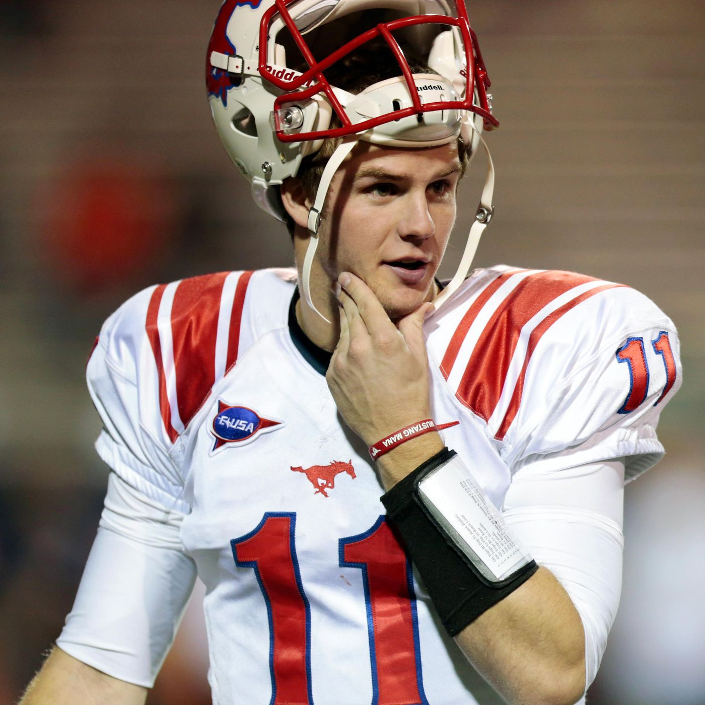 Garrett Gilbert Off To Uneven Start To Smu Career Sb Nation Dallas