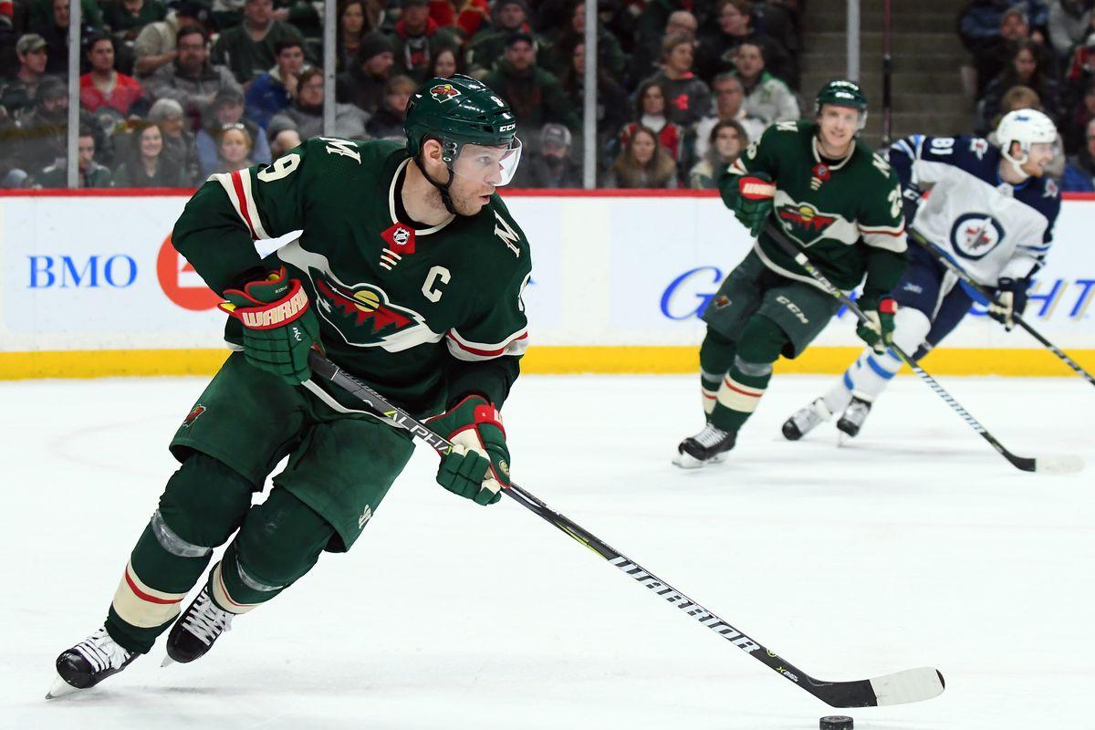 NHL: JAN 13 Jets at Wild