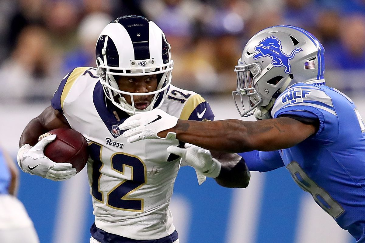 222a7790e94 Los Angeles Rams vs. Dallas Cowboys divisional playoff preview: Comparing  the receivers