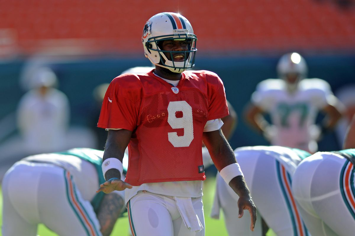 Miami Dolphins quarterback David Garrard was clearly the biggest injury news of Friday, even though his injury came before the game with the Tamp Bay Buccaneers.