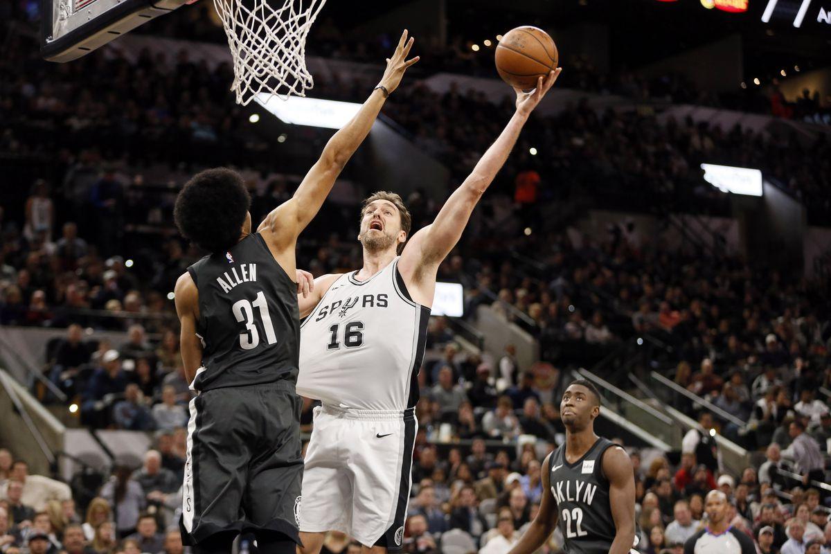 NBA: Brooklyn Nets at San Antonio Spurs