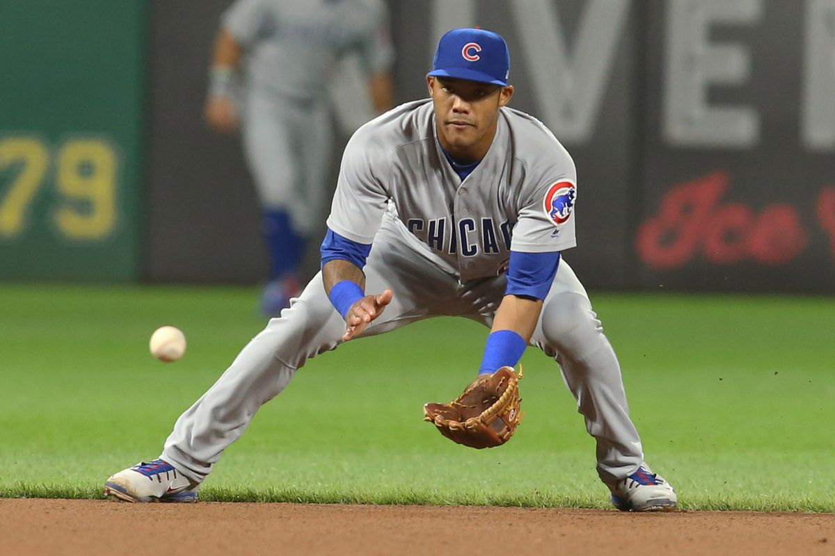The Cubs did try to trade Addison Russell early in the offseason ...