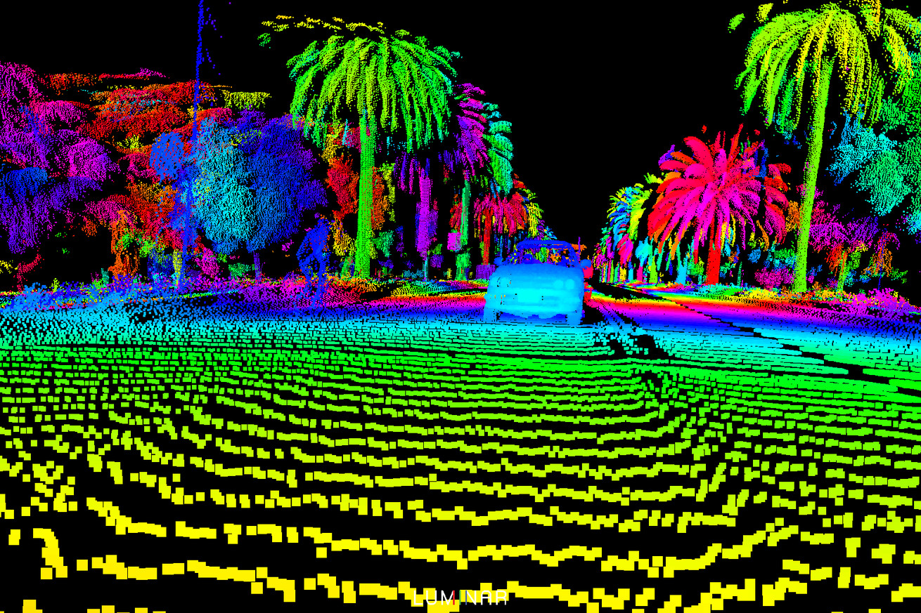 volvo s self driving cars are getting new laser sensors to see the world