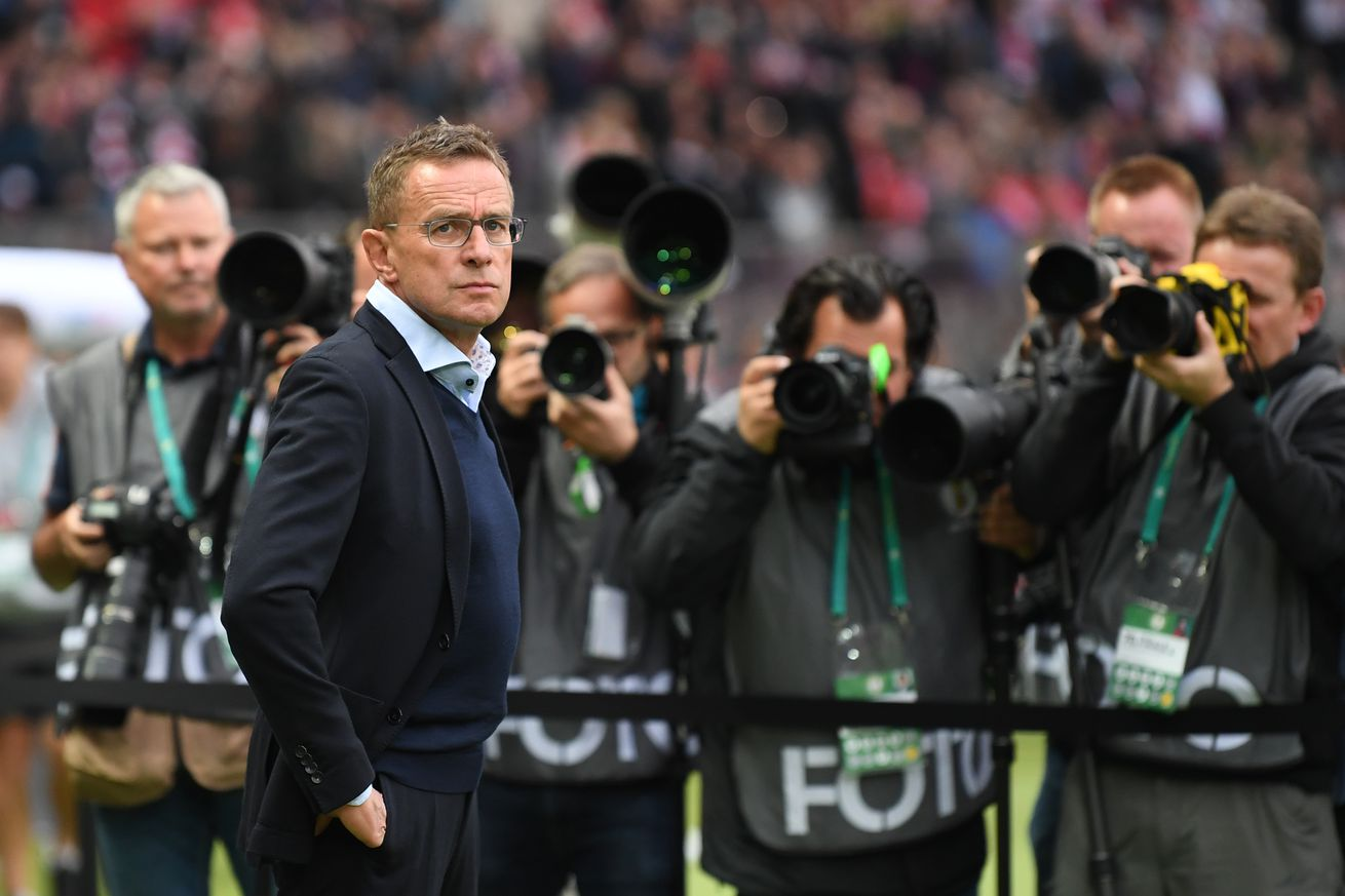 Update: Ralf Rangnik drops out, leaving Arsene Wenger as the leading candidate for Bayern Munich