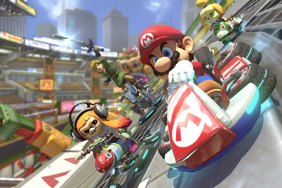 Mario Kart 8 Deluxe Wireless Play Comes With A Weird