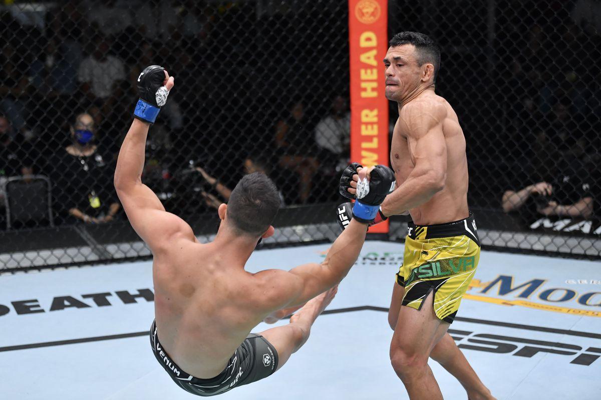 UFC Fight Night: Silva de Andrade v Pirello
