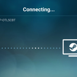 Connect to host PC via Steam Link Anywhere.