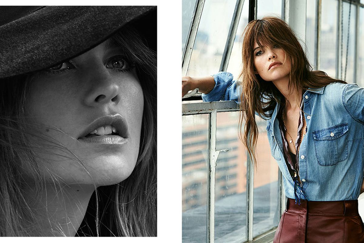 Behati Prinsloo. Images by Chris Colls for Net-A-Porter's The Edit.