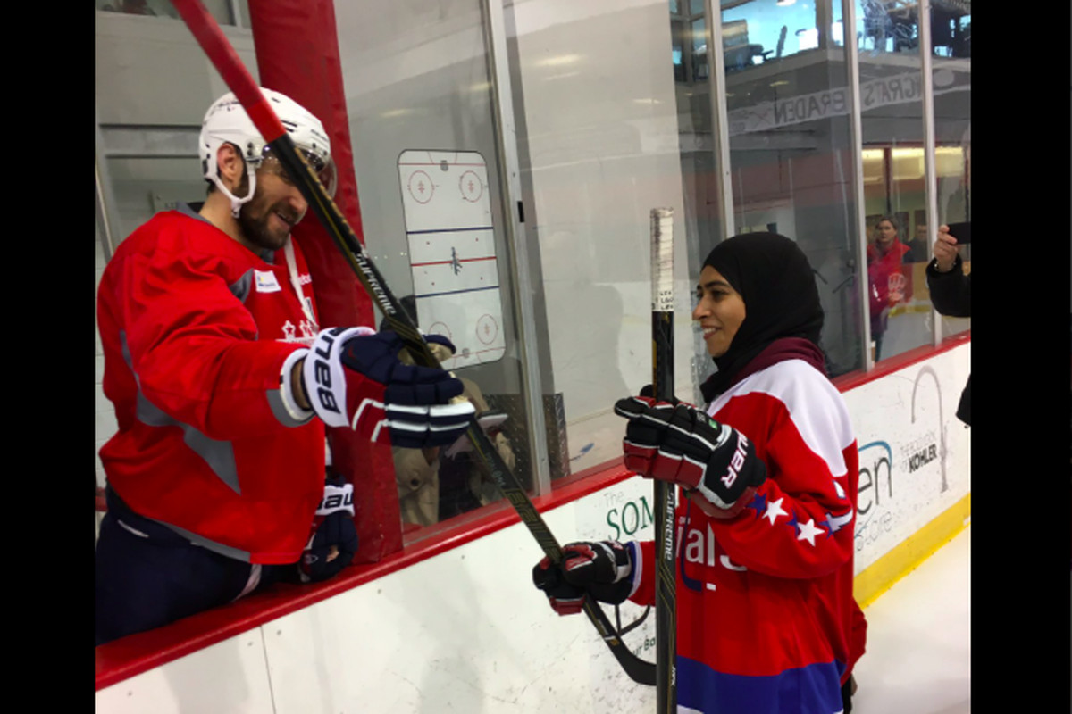 Capitals invite UAE women s hockey player to practice with them ... 07a5453ea4