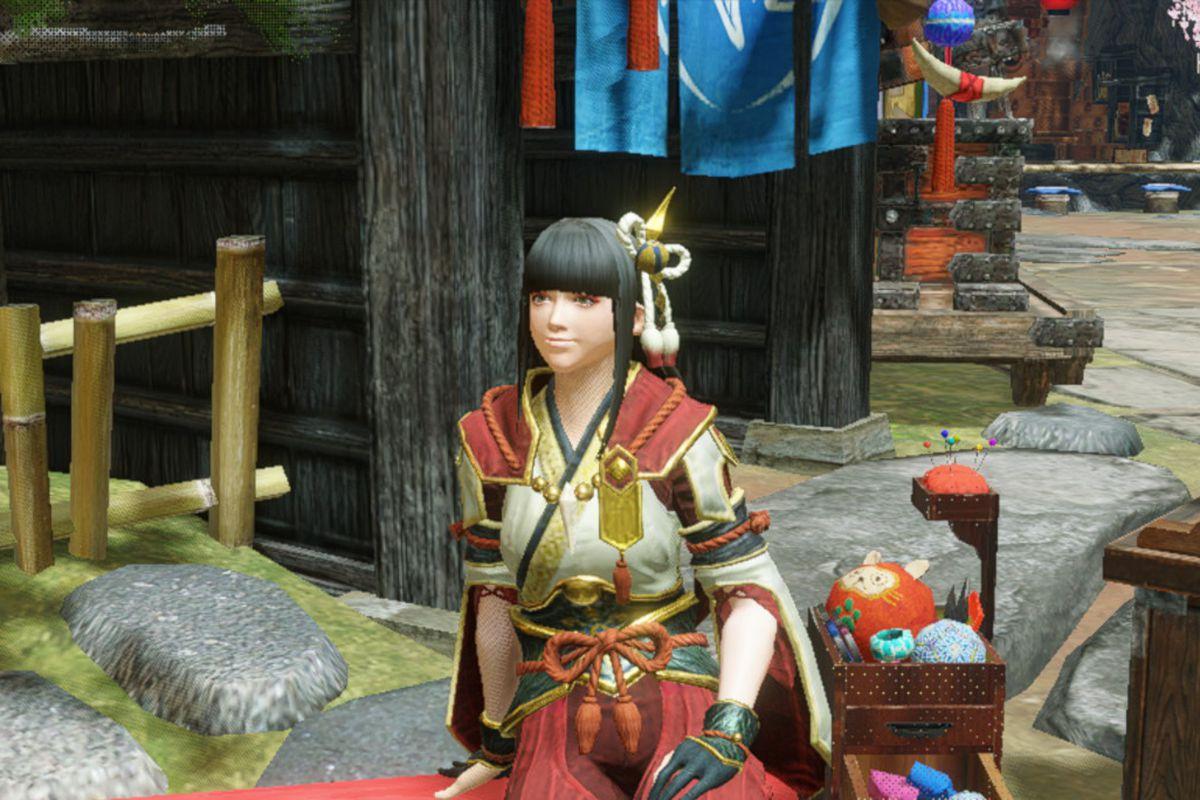 Hinoa from Monster Hunter Rise