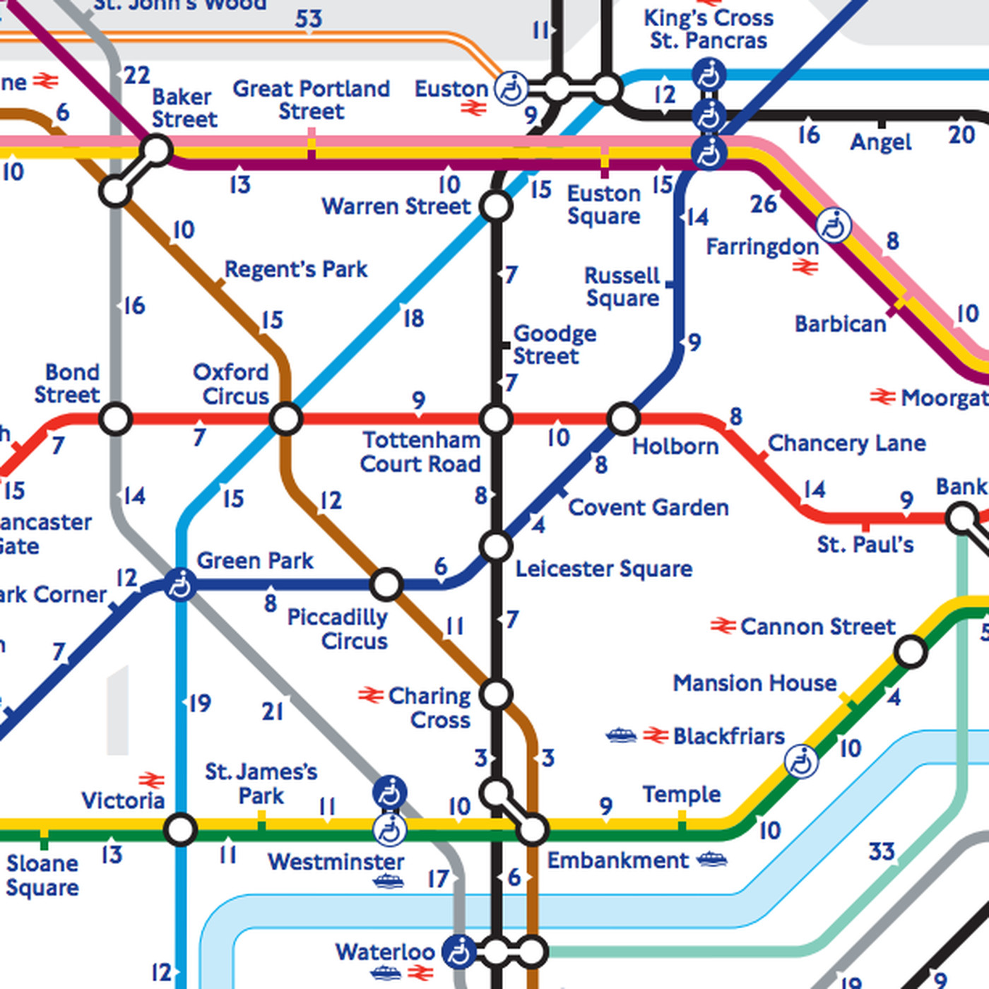 London's 'walk the Tube' map reveals the real distance between ... on london building map, london train map, trafffic charge london map, london rex, london fallen angel, london monitor, london zone 1, london tube passes for tourists, london home map, london congestion charge map, london cambridge map, london bus map, london red map, london metro map, london travel zones, london sky pool, london map tourist, london global map, london postcode map, london points of interest,