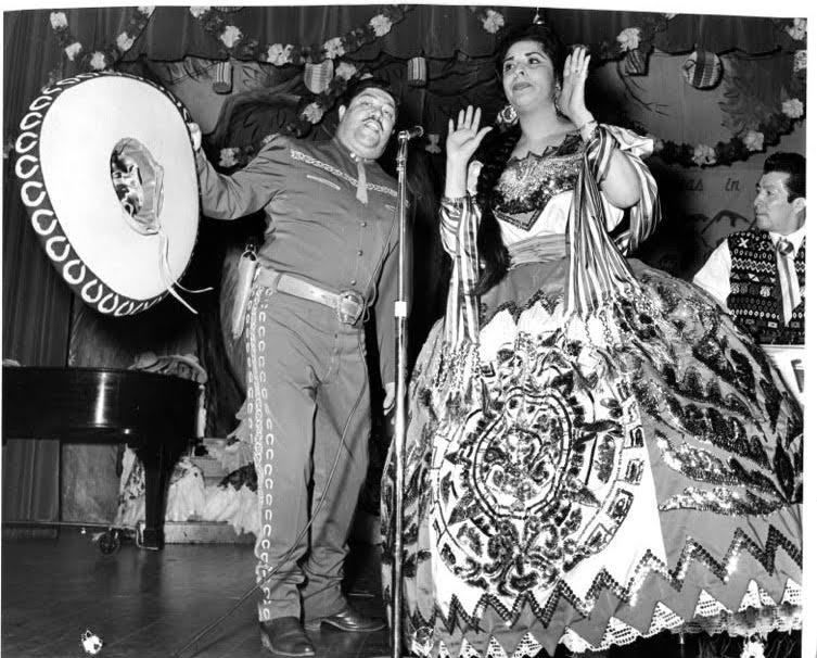 Raquel Ontiveros animated stages with life and music as a mariachi performer. | Provided photo