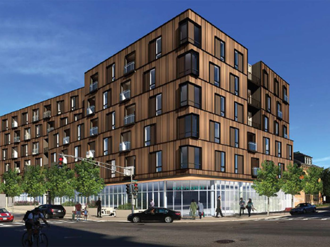 Allston Development Would Add Five Buildings At Harvard Avenue And Cambridge Street