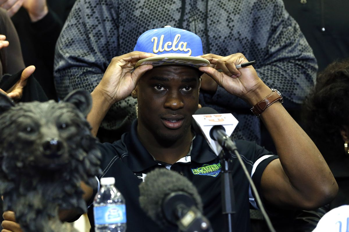 Suspended coach Adrian Klemm was the primary recruiter for 5 star running back Soso Jamabo