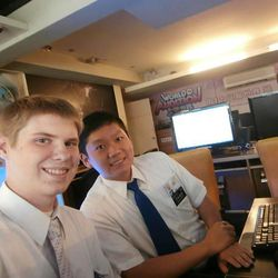 From right, Elder Connor Thredgold, 19, of Springville, and Elder Yu Peng Xiong, 24, of Kaohsiung, Taiwan, died in their apartment over the weekend while serving as missionaries for The Church of Jesus Christ of Latter-day Saints in the Taiwan Taipei Mission. News reports in Taipei indicate that their deaths were likely caused by a carbon monoxide leak.