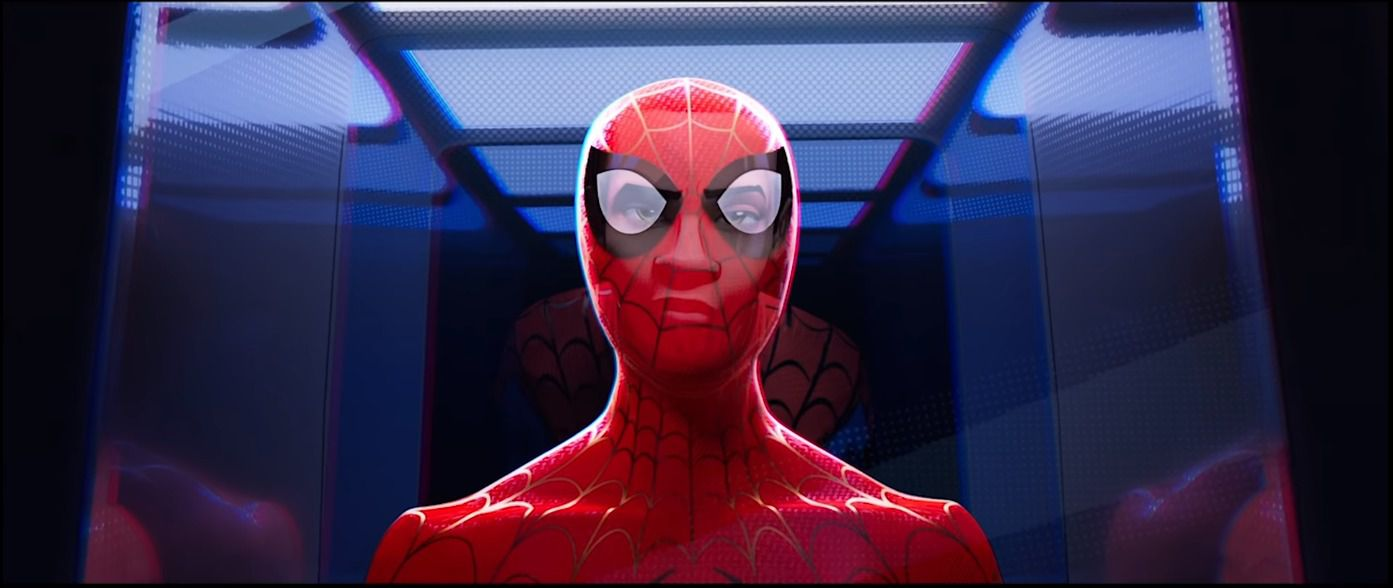 """Spider-Man: Into the Spider-Verse's """"leap of faith"""" scene: a"""
