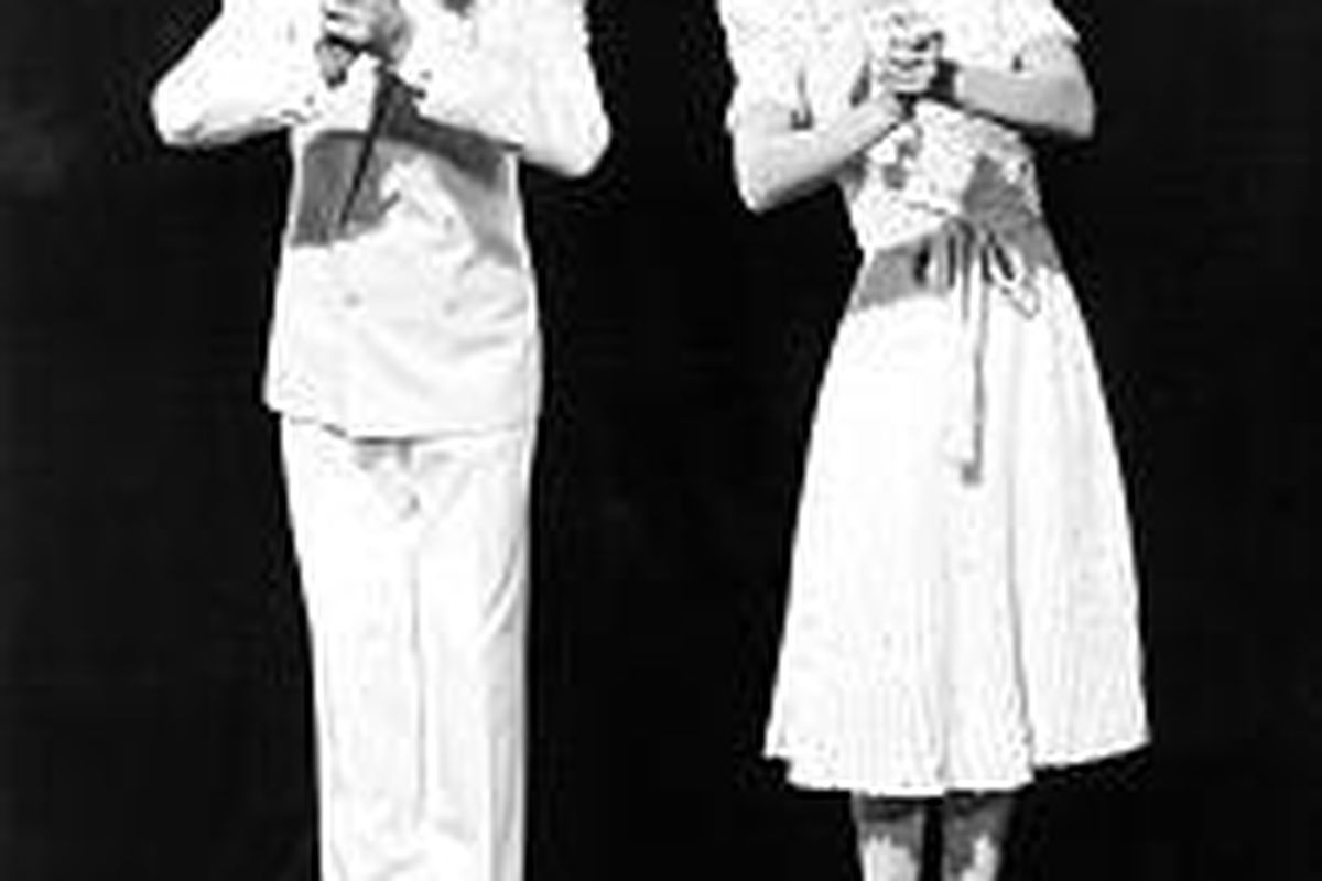 """Fred Astaire and Eleanor Powell are featured in """"That's Entertainment!"""""""