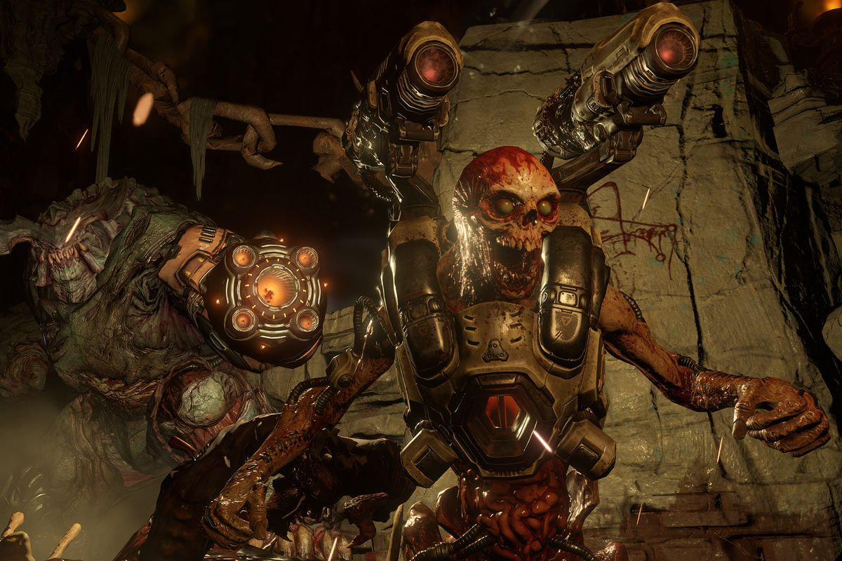 Doom on Nintendo Switch updated with motion controls