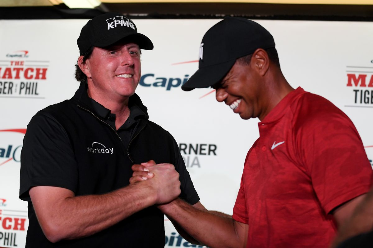 Match: Tiger vs. Phil - Practice Round and Press Conference