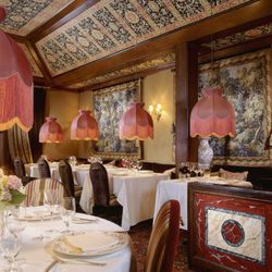While it's not in DC proper, Inn at Little Washington is the go-to spot for Washingtonians seeking a romantic meal. And it's no wonder why given the ornate design complete with Old World furnishings and silk lampshades hanging over each table intended to