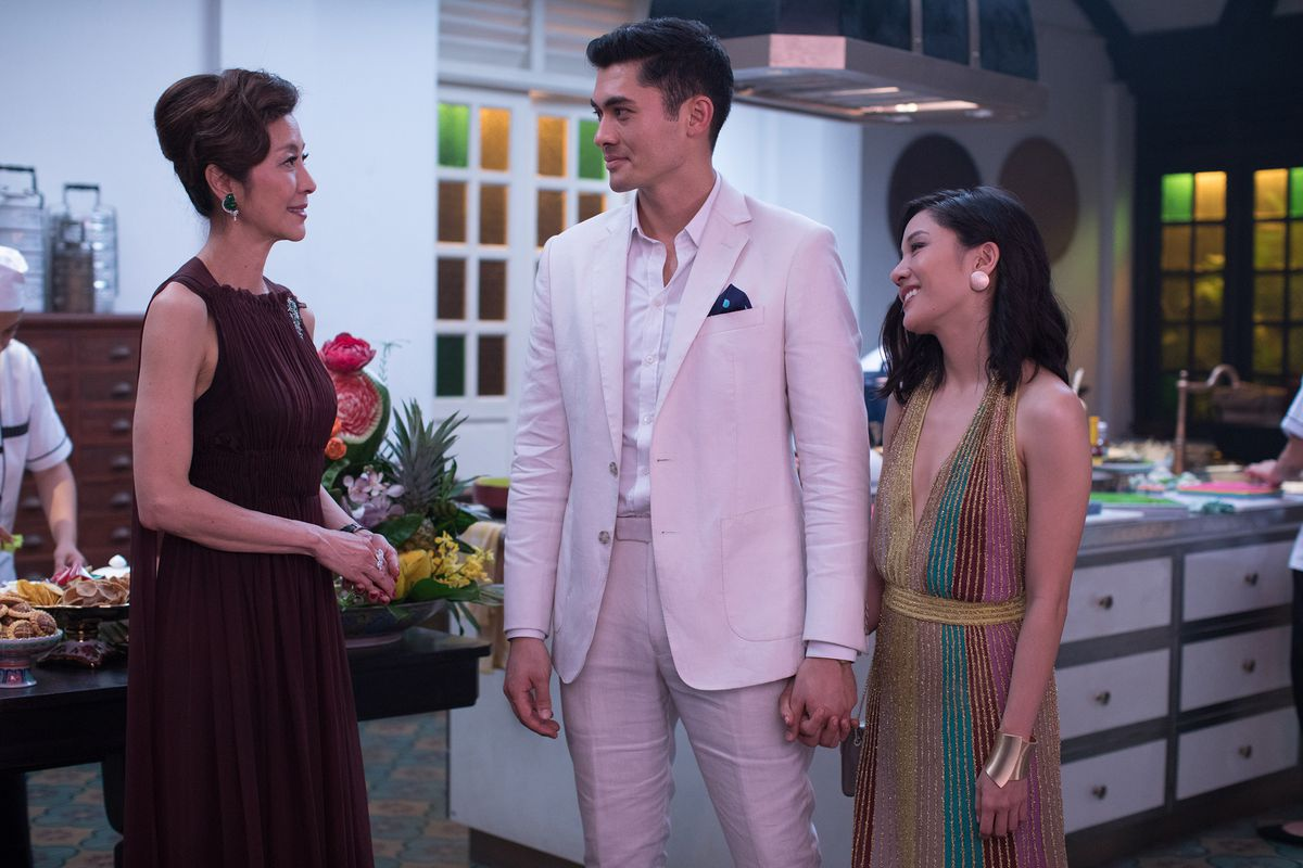 Crazy Rich Asians - Eleanor, Nick and Rachel