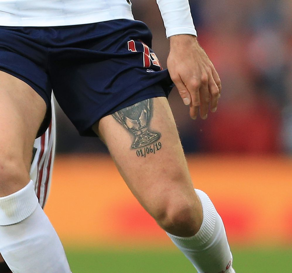 Henderson Hints About New Premier League Champions Tattoo The Liverpool Offside