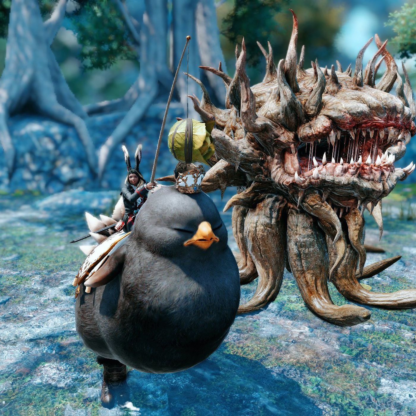 Chinese Final Fantasy 14 players are turning KFC into a new
